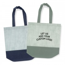Hobart Pattern Shopping Totes Branded