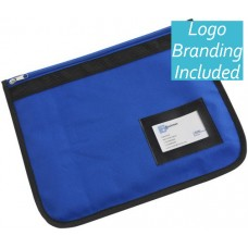 Aqua Document Case