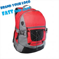 Caslick Bungee Cord Branded Backpack