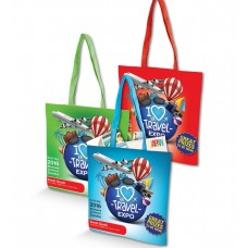 Colourful Logo Emblazoned Conference Gift Bags