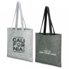 Felted Fashion Totes With Logo Branding