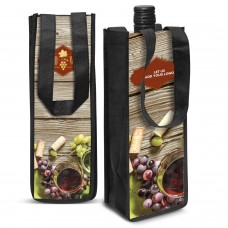 Full Colour Printed Wine Gift Bags