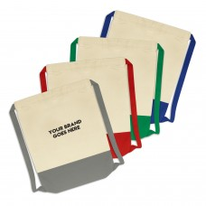 Logo Emblazoned Dux Cotton Backsacks