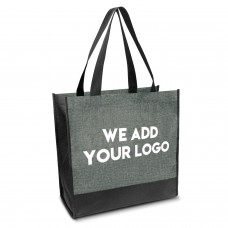 Logo Emblazoned Heather Handy Bags