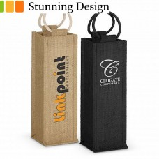 Ravoli Jute Wine Carrier