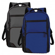 Simple Logo Decorated 15 inch Backpacks