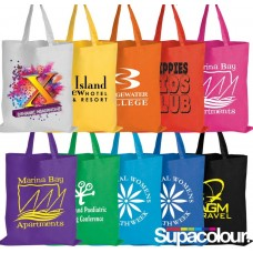 Colourful Basic Branded Tote Bags