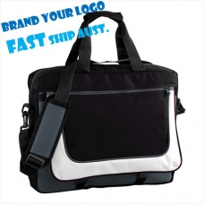 Vibrant Logo Decorated Folio Bags
