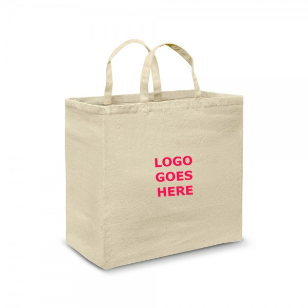 Extra Wide Promotional Cotton Totes